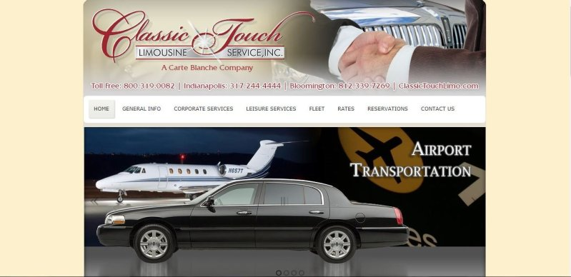 Classic Touch Limousine, a Carte Blanche Company