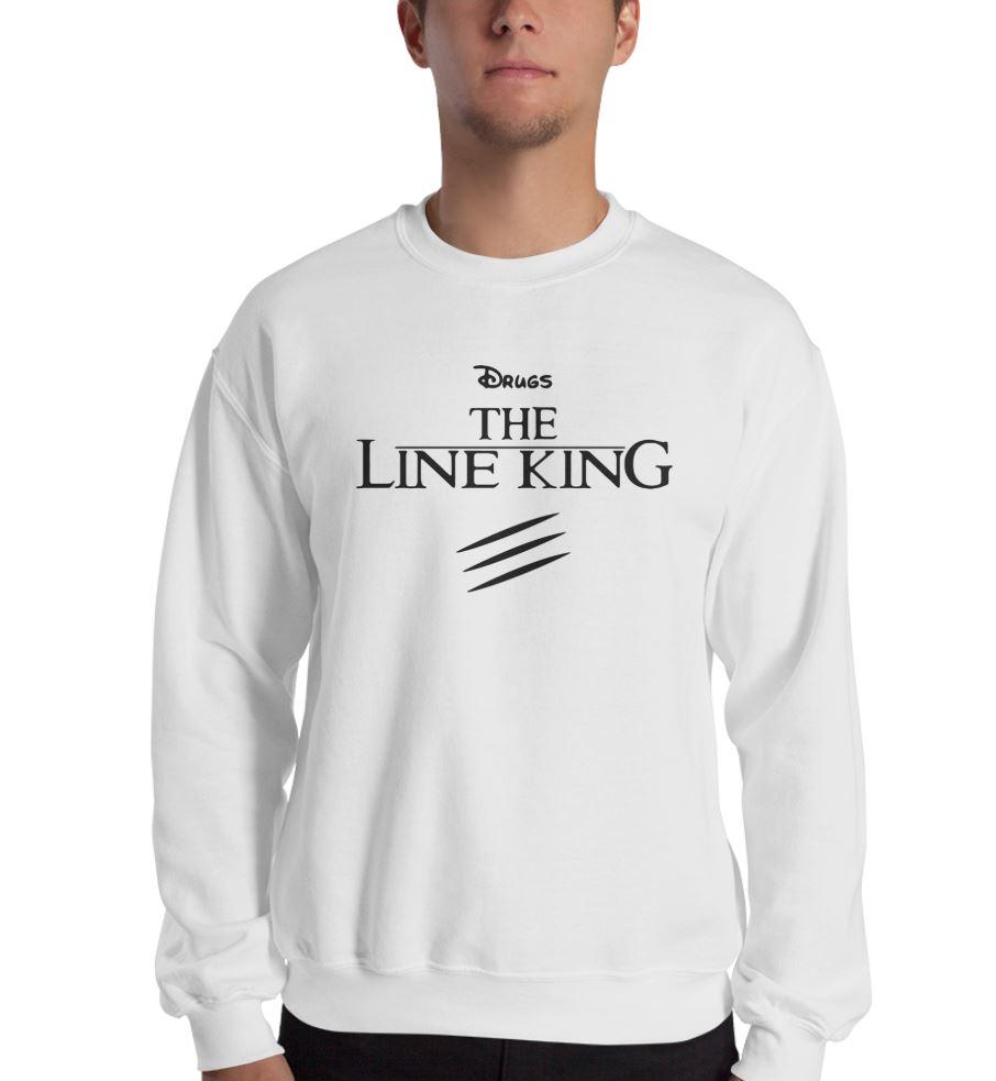 Drugs the line king Elton John shirt