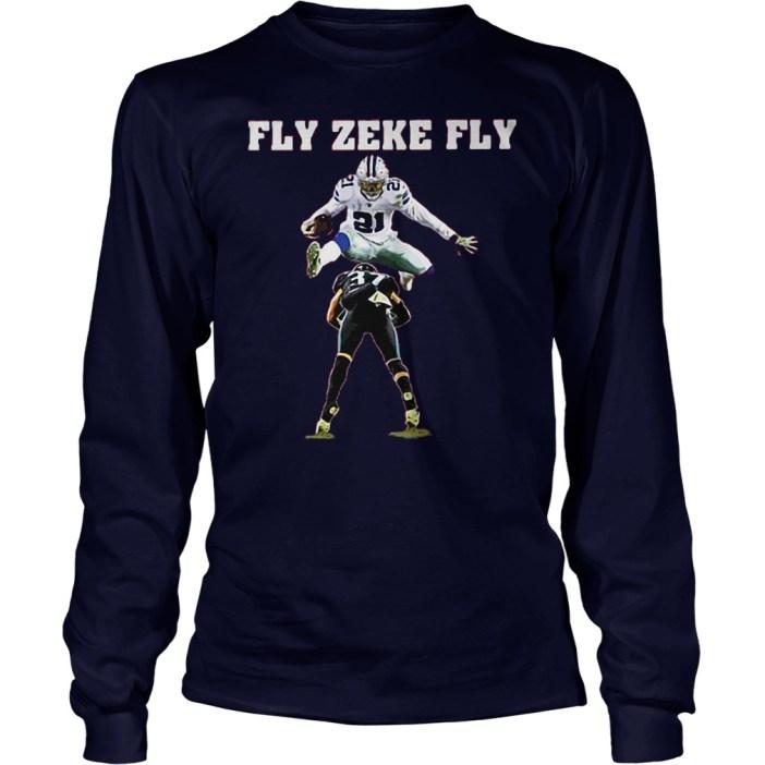 Ezekiel Elliott fly zeke fly Dallas Cowboys shirt