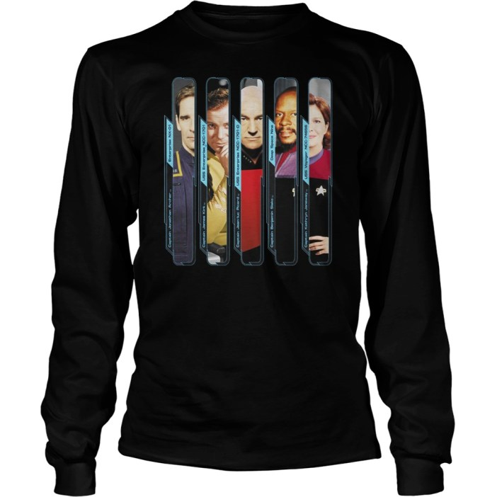 Star Trek Starfleet Captains Marvel shirt