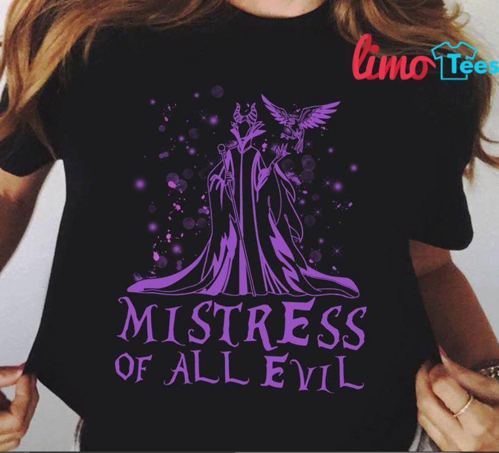 Maleficent mistress of all evil shirtMaleficent mistress of all evil shirt