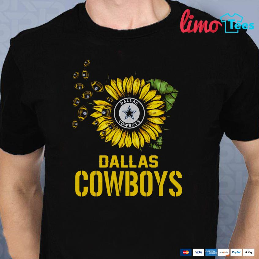 Dallas Cowboys sunflower shirt