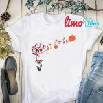 Dandelion Clemson Paw shirt
