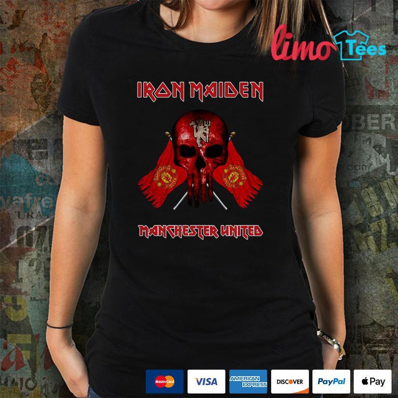 Iron Maiden Manchester United shirt
