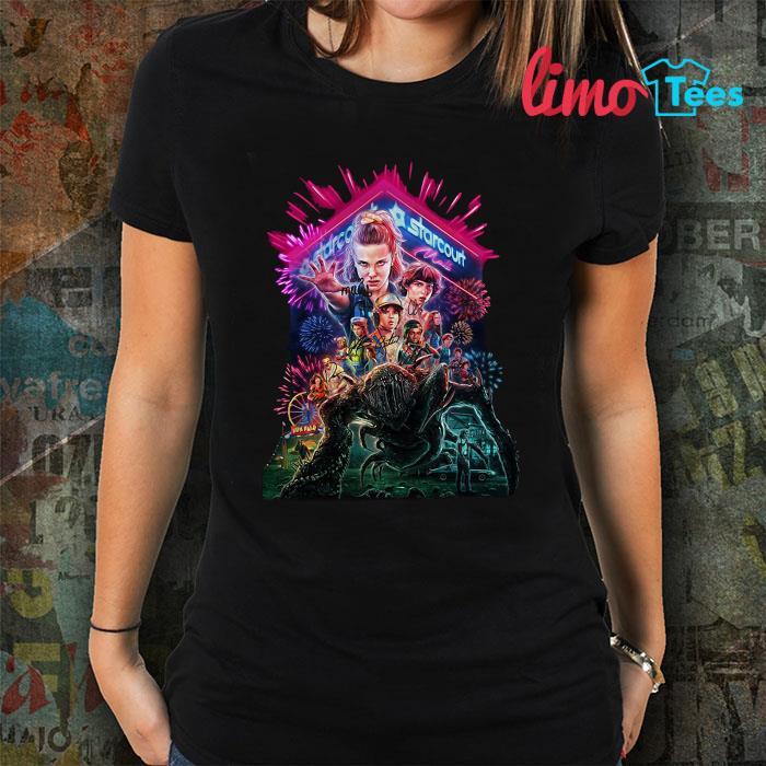 Upside Down starcourt Stranger Things shirt