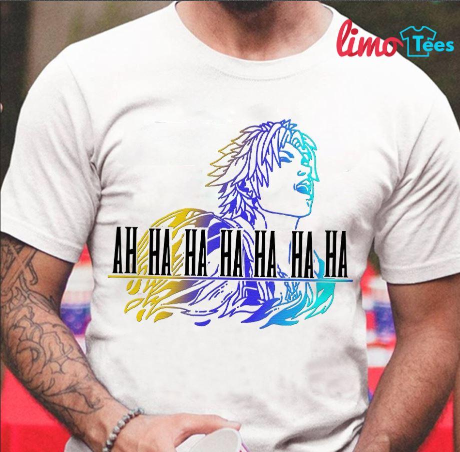 Tidus ah ha ha ha Final Fantasy shirt
