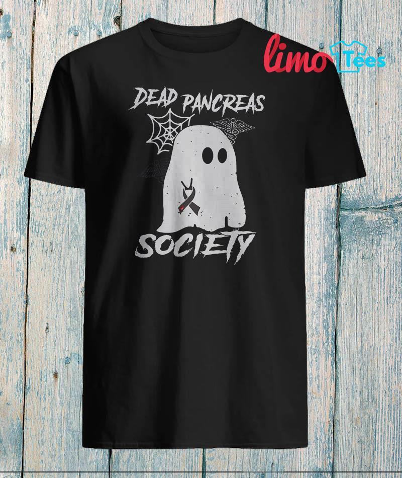 Ghost dead Pancreas society cancer shirt