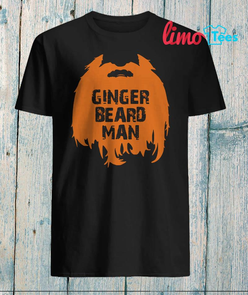 Odin's Sons ginger beard man shirt