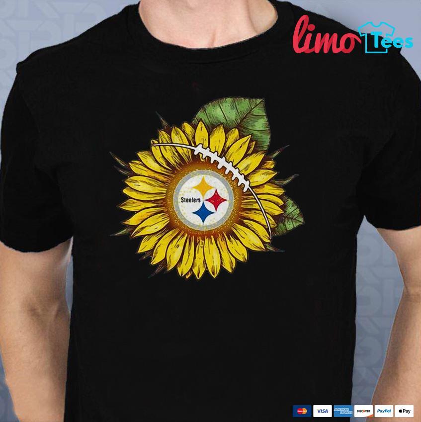Sunflower Pittsburgh Steelers  shirt