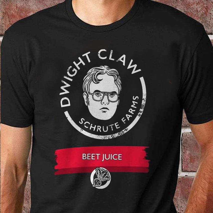 Dwight Schrute farms beet juice t-shirt