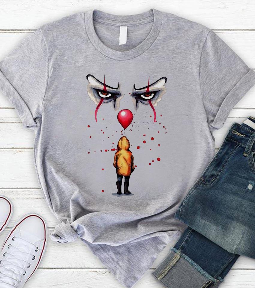Youl'l float too Pennywise and Georgie unisex t-shirt