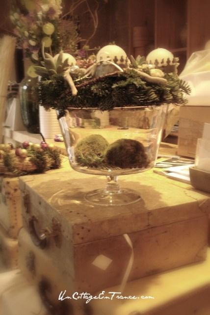 Couronne de Noel - French Christmas wreath 3