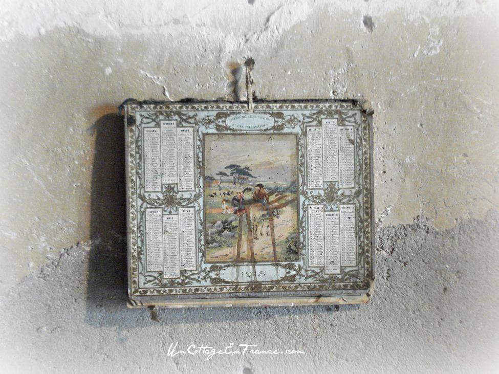 Un calendrier particulièrement beau - A beautiful old calendrier