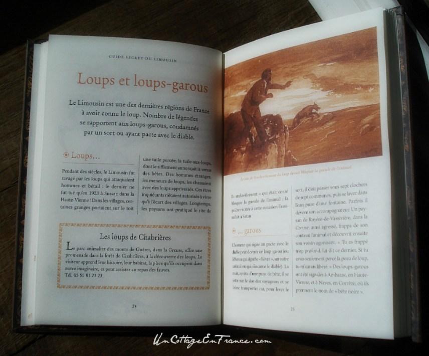 Guide secret du Limousin - Loups et loups-garous