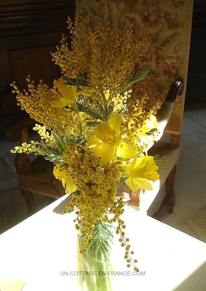 Bouquet fleurs jaunes 5