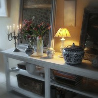 Virage SHABBY CHIC sur le comptoir du cottage (Shabby chic shift on the cottage counter)