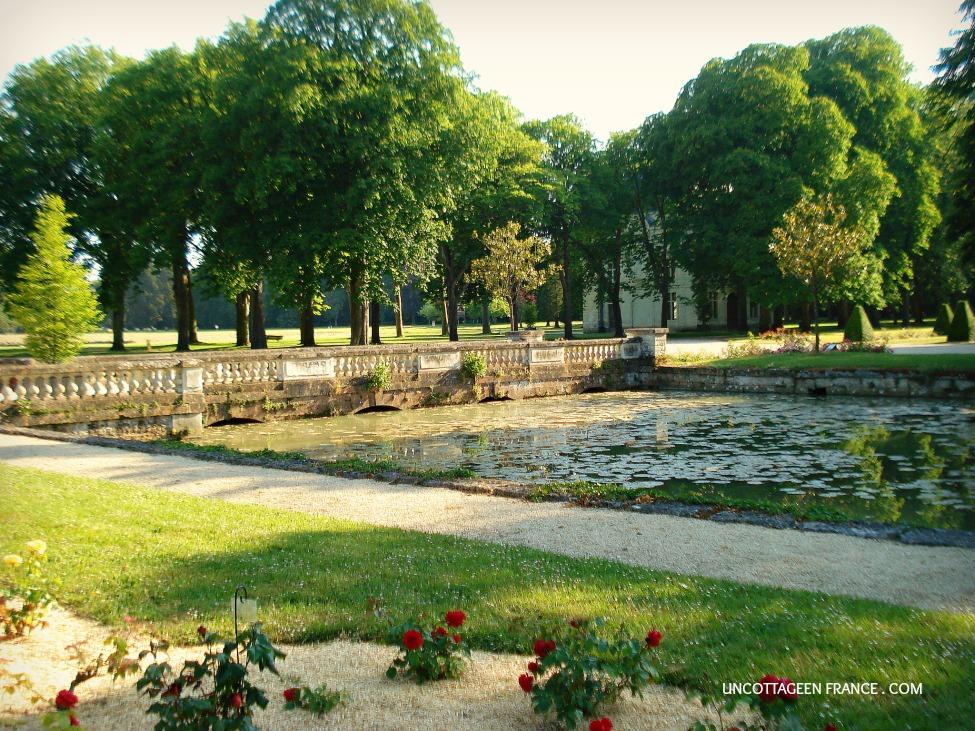 Parc du chateau de Richelieu