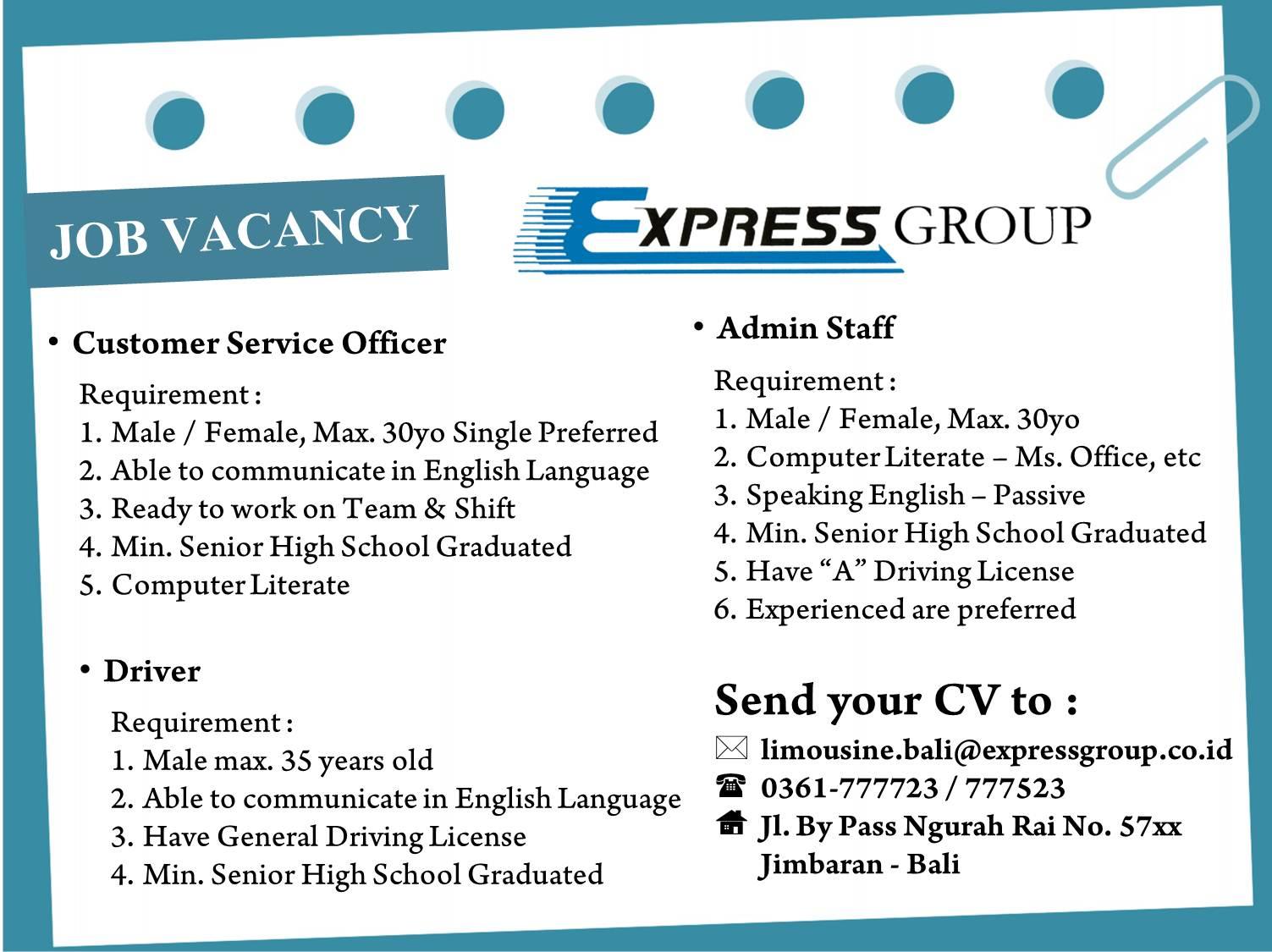 Resume Job Vacancy Sample | Sugarflesh