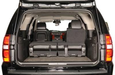4- Chevy Suburban SUV