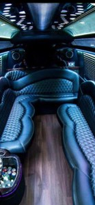 Black Shuttle interior
