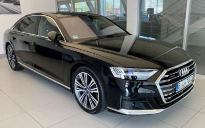 Neu in der Flotte: Audi A8L