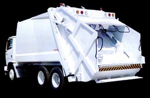 Coletor compactador para serviços pesados 15 e 19 m³