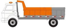 Caminhão Basculante de 6/8 m³