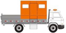 Caminhão para Transporte de Pessoal e Ferramental