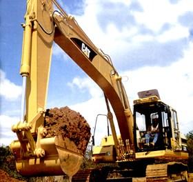 Escavadeira Hidráulica de Médio Porte
