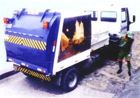 Coletor Compactador Lateral