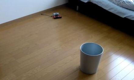 Cesta de lixo inteligente