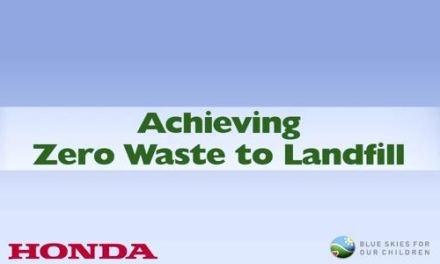 Como a Honda consguiu chegar ao lixo zero