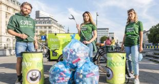SURVEY: Brits Want to Recycle on the Go, But Lack Infrastructure