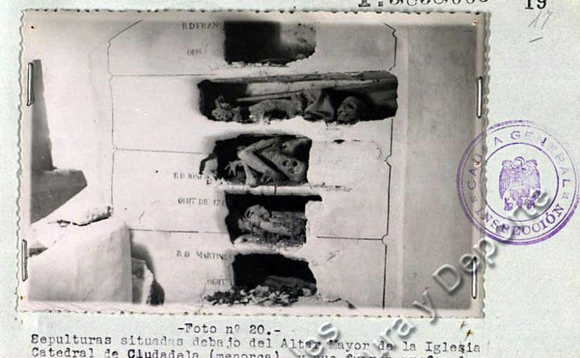 """<span class=""""entry-title-primary"""">El informe-resumen de 1952 sobre asesinatos de religiosos</span> <span class=""""entry-subtitle"""">En la Causa General aparece a partir del folio 247 del legajo 1557, expediente 10, un informe sobre asesinatos de religiosos</span>"""