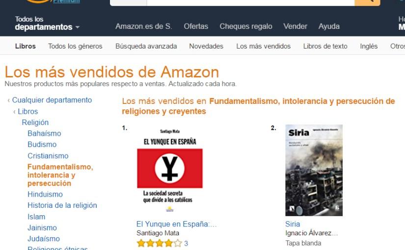 """<span class=""""entry-title-primary"""">El Yunque, número uno en fundamentalismo e intolerancia</span> <span class=""""entry-subtitle"""">La edición electrónica del libro El Yunque en España está en el primer puesto en Amazon en la sección de fundamentalismo e intolerancia</span>"""
