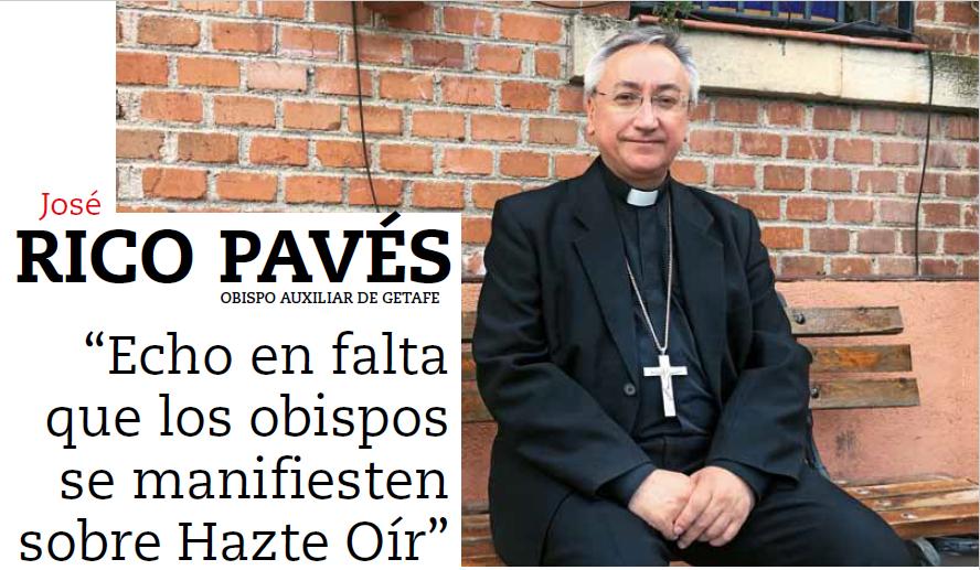 Entrevista a monseñor Rico Pavés en Vida Nueva, 25 de marzo de 2017.