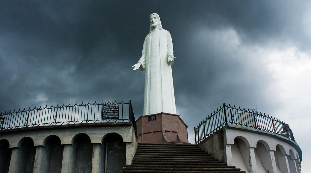 Monumento a Cristo Rey en Tenancingo (México). Foto de Sacrovir Ávila