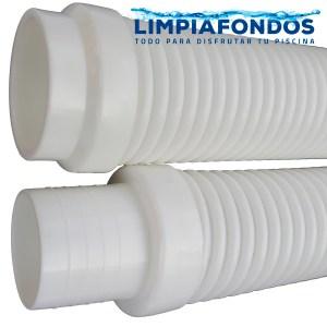 Manguera Recta Blanca 100cm 1 y Pack 5 Mangueras