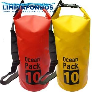 Bolsa Seca 10 lt Amarilla y Roja
