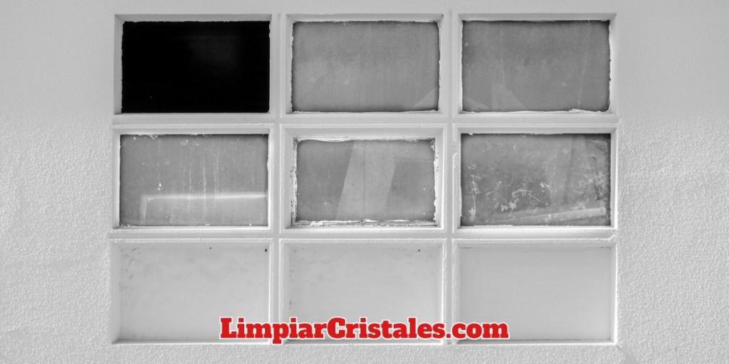 Limpieza de cristales dificiles