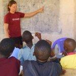 Ceilidh teaching in 2010