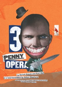 The Threepeny Opera text, designed by the NT Graphic Design Studio