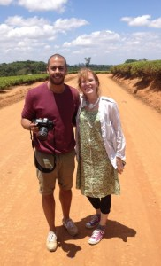 Georgie and David from Gingerwink Films