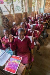 Baba Dogo Primary School, Nairobi, Kenya.