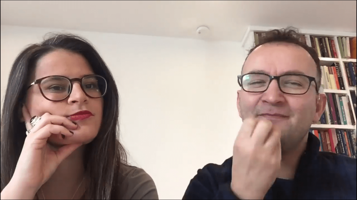 Tyron Woolfe & Abigail Gorman: Why we've launched a new Deaf LGBTQ website  in time for Pride season! (BSL)