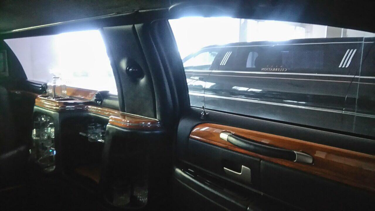 enterijer limuzine