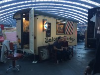 No time to visit a barber? Head over to the salon truck!