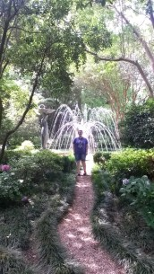 @ the Biedenharn Gardens in Monroe, LA