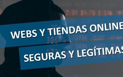 Páginas Web Legítimas