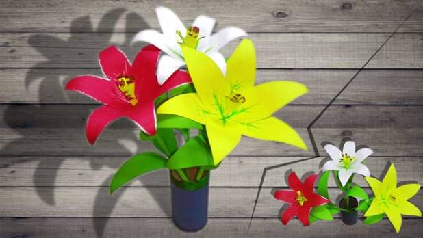 How to make paper flower linas craft club how to make paper flower easily mightylinksfo